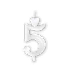 Számgyertya - 5