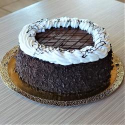 Tejszínes csoki torta